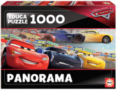 Puzzle Panorama Cars 1000 peças