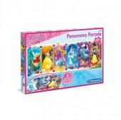 Puzzle Panorama Princesas 250pç