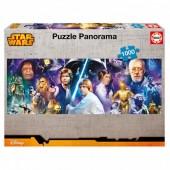 Puzzle Panorama Star Wars 1000 Peças