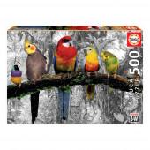 Puzzle Pássaros na Selva 500 peças