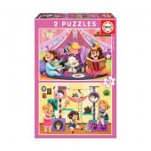 Puzzle Pijama Party 2x20 peças