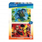 Puzzle Pixar 2x48 peças
