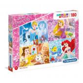 Puzzle Princesas 180 peças Disney
