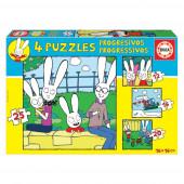 Puzzle Progressivo 4 em 1 Simon