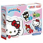 Puzzle Progressivo Hello Kitty