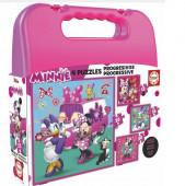Puzzle Progressivos 4/1 Minnie The Happy Helpers