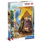 Puzzle Raya e o Último Dragão 60 peças