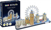 Puzzle Revell 3D Londres Skyline 107 peças