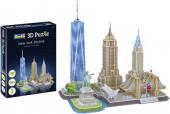 Puzzle Revell 3D Nova Iorque Skyline 123 peças