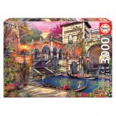Puzzle Romance em Veneza 3000 pcs