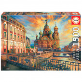 Puzzle São Petersburgo Rússia 1500 peças