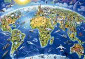Puzzle Símbolos do Mundo 2000 peças