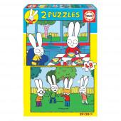 Puzzle Simon 2x48 peças