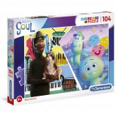 Puzzle Soul Disney Pixar 104 peças