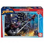 Puzzle Spiderman e Venom 200 peças