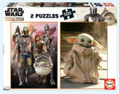 Puzzle Star Wars The Mandalorian 2x500 peças