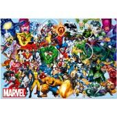 Puzzle Superherois Marvel 1000 pçs