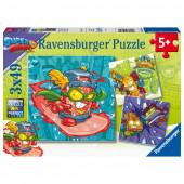 Puzzle Superzings 3x49 peças