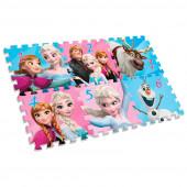 Puzzle Tapete Eva Frozen