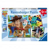 Puzzle Toy Story 4 3x49 peças