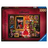 Puzzle Vilãs Disney Rainha de Copas 1000 peças