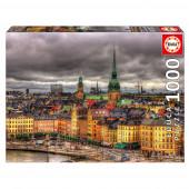 Puzzle Vistas Estocolmo 1000 peças