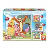 Puzzles Progressivo Winnie the Pooh