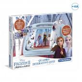 Quadro Interativo Quiz Frozen 2