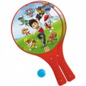 Raquetes + Bola Patrulha Pata