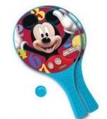 Raquetes + bola praia Mickey - sortido