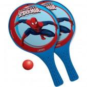 Raquetes e bola homem aranha Marvel