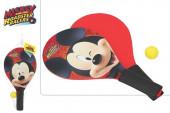 Raquetes Madeira + Bola Mickey Disney