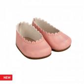 Reborn Arias Sapatos Básicos Rosa Bebé 45 cm