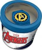 Relogio Analógico Avengers Marvel  com Caixa