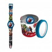 Relógio analógico Avengers