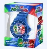 Relógio Analógico c/caixa PJ Mask