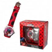 Relógio Analógico da Ladybug caixa