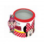 Relógio analógico em caixa metálica Minnie