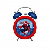 Relógio com alarme Marvel Spiderman