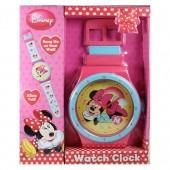 Relógio de parede gigante Disney Minnie Mouse