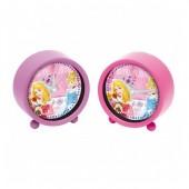 Relógio despertador 11 cm Princesas Disney