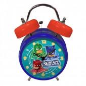 Relógio Despertador com Campainha - PJ Masks