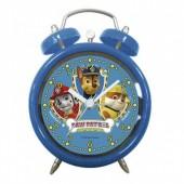 Relógio Despertador com Campainhas Patrulha Pata - sortido