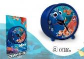 Relógio Despertador redondo 9cm Buscando A Dory
