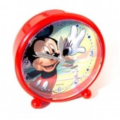 Relogio despertador redondo Mickey