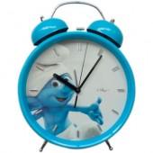 Relógio Despertador Smurfs