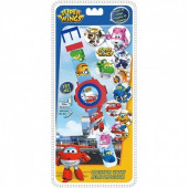 Relógio digital 3D com projector Super Wings