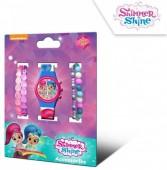 Relógio Digital com Pulseiras Shimmer e Shine