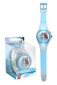 Relógio Digital Frozen Luz Led