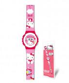 Relógio Digital Hello Kitty